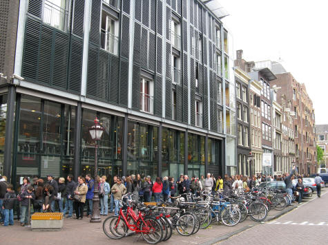Anne Frank's House in Amsterdam Holland