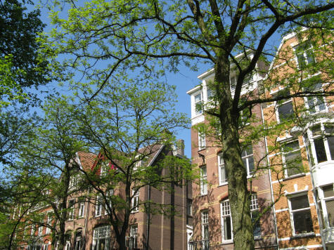 Hotels in the De Pijp District of Amsterdam Holland