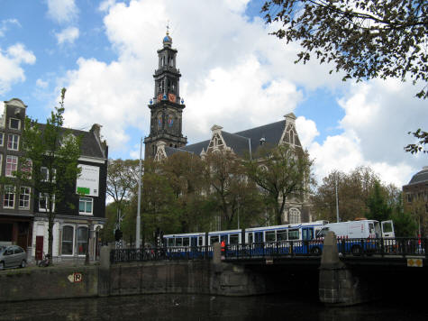 Hotels in the Jordaan District of Amsterdam Holland