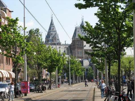 Museum District of Amsterdam