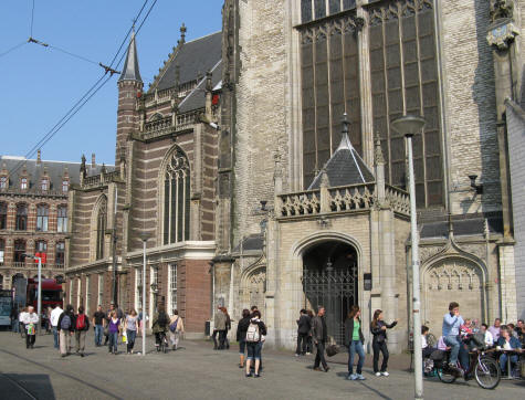 Artis  Amsterdam on Amsterdam S New Church  Nieuwe Kerk    Netherlands