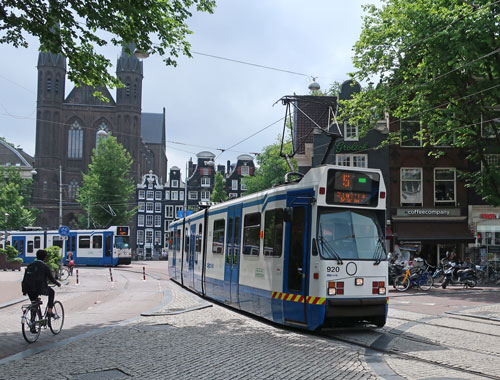 Public Transit in Amsterdam Holland