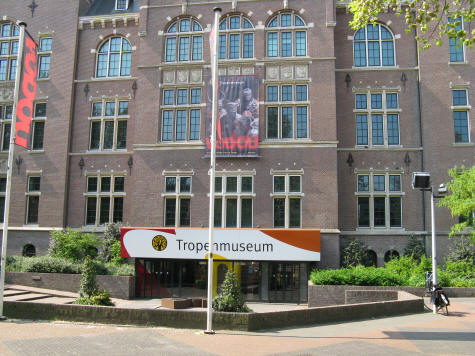 Museum of the Tropics in Amsterdam Holland